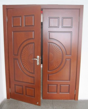 Good quality double shutter internal doors walnut solid wood & Good Quality Double Shutter Internal Doors Walnut Solid Wood - Buy ...