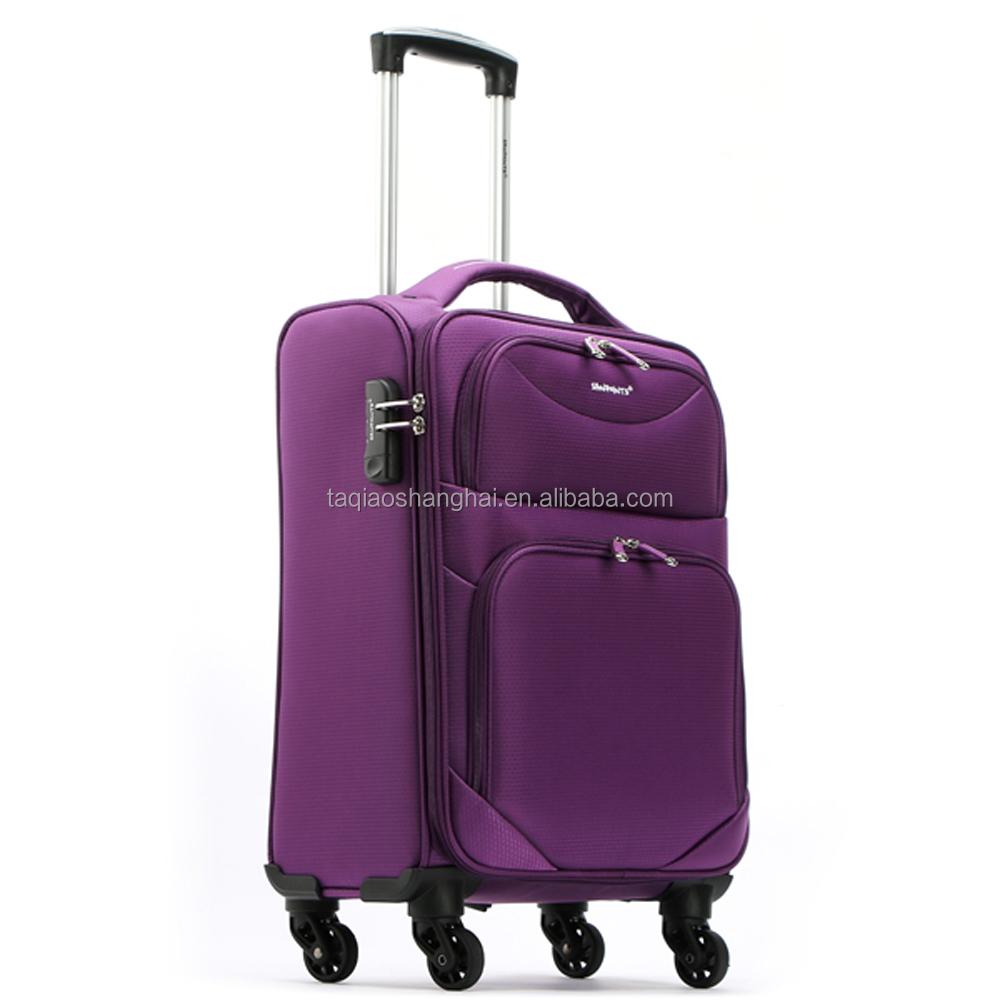 sanpoints wholesale nylon travel luggage set