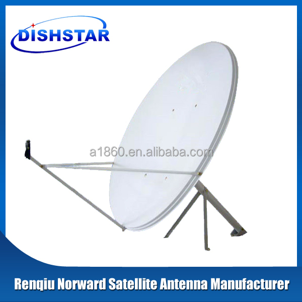 kuband 120cm satellite dish antenna tv