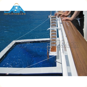 Beach Floating Swimming Sea Pool, Portable Jellyfish Protection Net Pool for Yachts