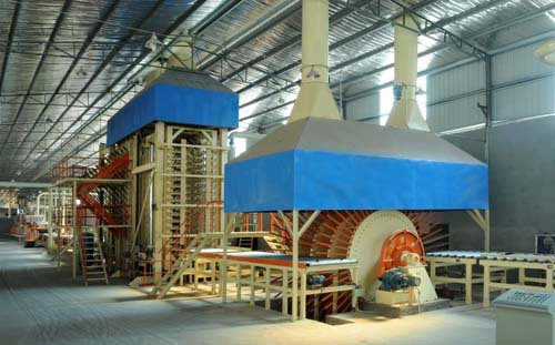 hollow particle board machine for furniture and construction