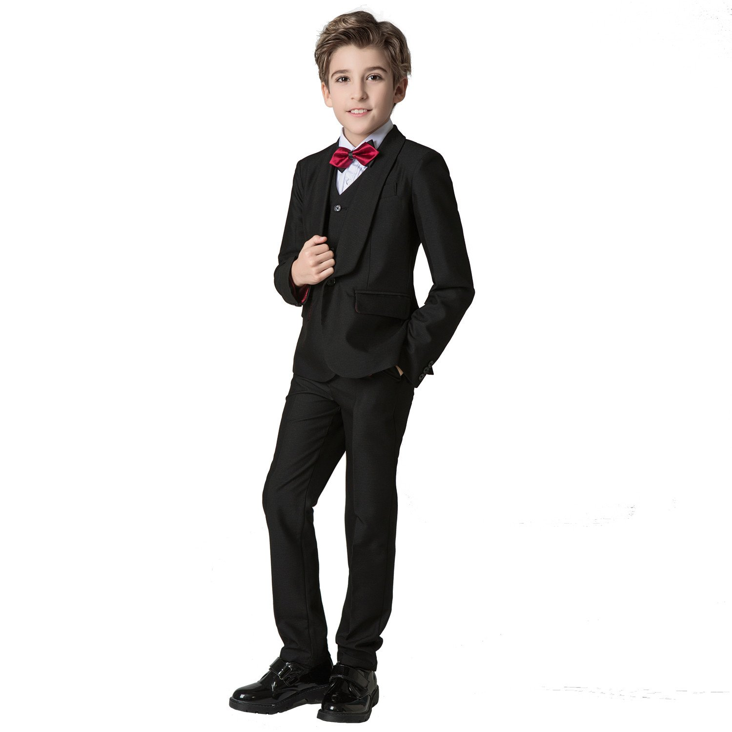 MLT Boys Long Swallow-tail 2-piece Wedding Party Suits