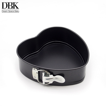 Removable Bottom and Quick-Release Latch Leakproof Heart-shaped baking bakeryCheesecake Pan Nonstick Springform Cake Pan