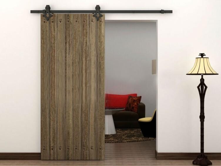 Sliding closet door hardware - Hierro Corredera Granero R 250 Stico Puerta De Madera Closet Ferreteria