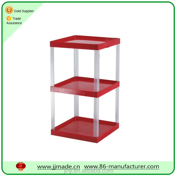 China Professional Customized plastic display shelf from alibaba shop