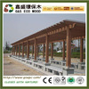 top-selling wpc wooden pergola outdoor eco-friendly wood plastic composite wpc pergola