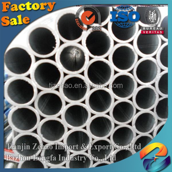 2016 3PE, Black Painting Round Black Hollow Section Steel Tube 219mm-1420mm Outer Diameter from ZeHao