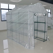 poray garden house 7' x 5' x 6' Outdoor /Indoor Portable Walk-in Greenhouse garden grow tent grow room