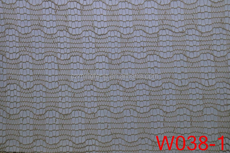 100% Polyester Warped Web Big Hole Mesh Lace Fabric for Fashion Clothes Wholesale