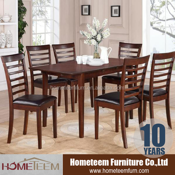 Teak Wood 6 Seater Dining Table And Chair Designs