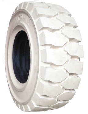 white color 7.00-12 8.25-12 27x10-12 solid tires for industry