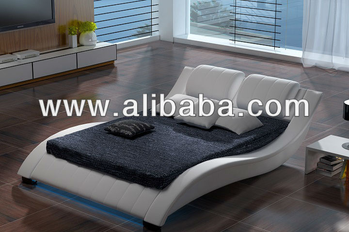 Soft Bed With Led Lights