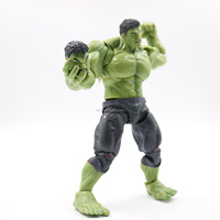 Hot selling super heroes movable plastic action figure toys