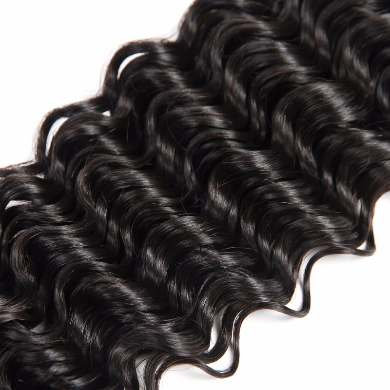 New arrival 10a Cambodian virgin hair deep wave unprocessed hair Black Friday specials
