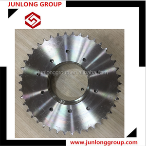 Stainless steel A 06B42T sprocket wheel