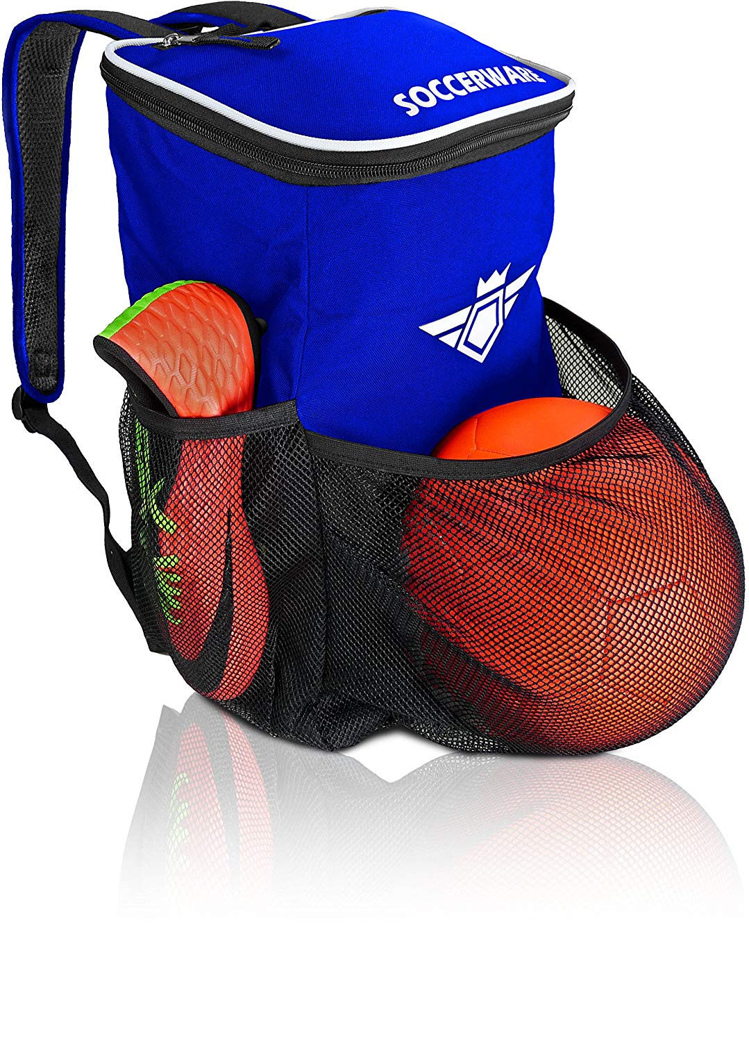 Get Quotations Soccer Backpack With Ball Holder Compartment For Kids Youth Boys S Bag Fits