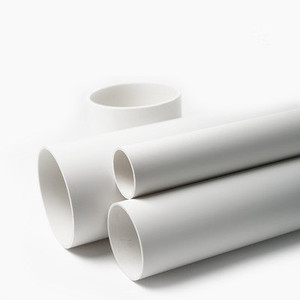 SCH 80 SDR 13.6 5 inch 12 inch diameter pvc pipe for water supply