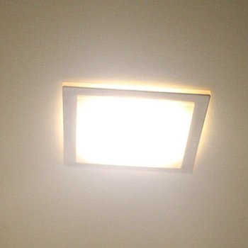 square kitchen 1 1w led lights drop ceiling recessed sc