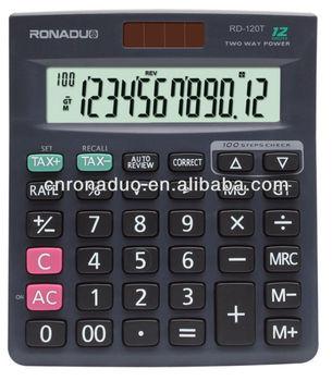 Scientific Name Plastic Calculator Latest Check&correct Function Calculator  Mj-120t - Buy Scientific Name Plastic Calculator,Latest Check&correct