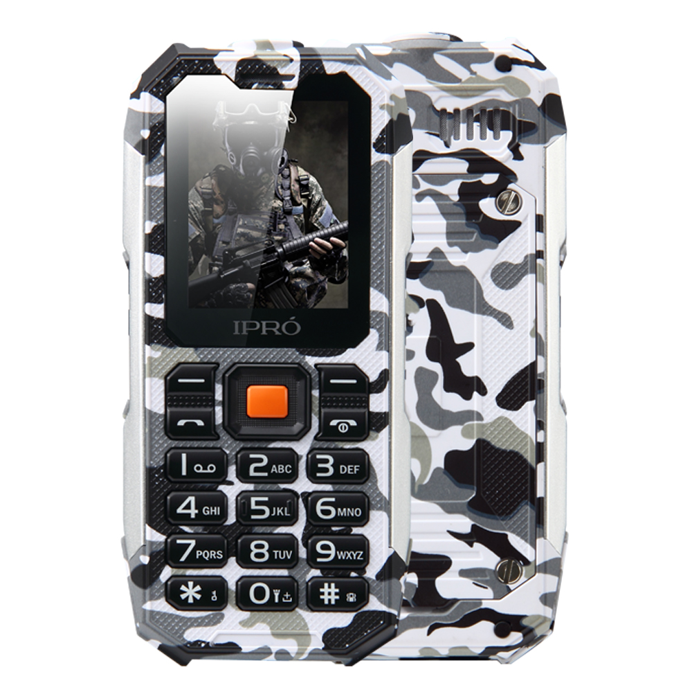 "2.0"" 2G mobile Waterproof Dustproof Shockproof IPRO Shark cellphone manufacturer company with BT FM MP3"