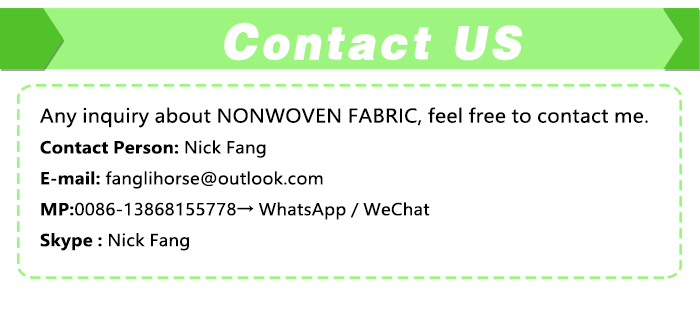 2017 Biodegradable adhesive non woven fabric meltblown nonwoven for wiping non-woven bag
