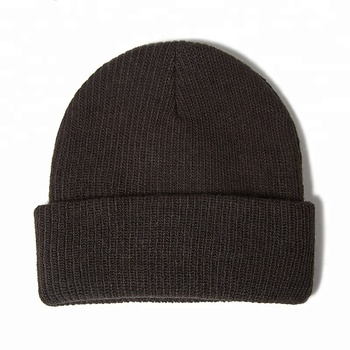 a57cd422e3723 Custom Private Cashmere Knitted Cuff Wholesale Slouch Hat Beanie With Label