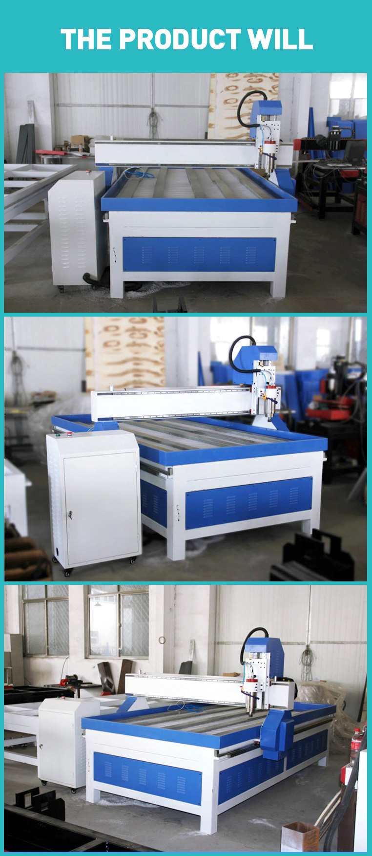 Songli 1325 3.2kw 3-axis woodworking stone carving machine Cheap CNC machinery