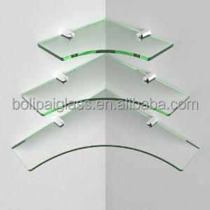 Soportes para estantes de vidrio estantes ba o glass for Estantes vidrio bano