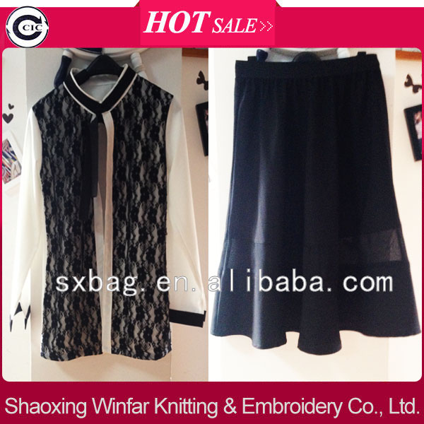 shaoxing winfar ladies linen blouse and dress