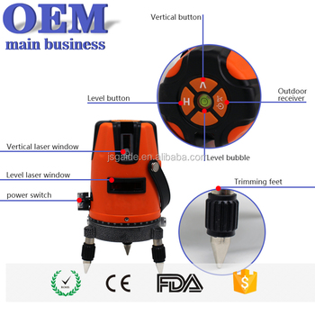 Automatic self leveling quality flooring rotary level for grading