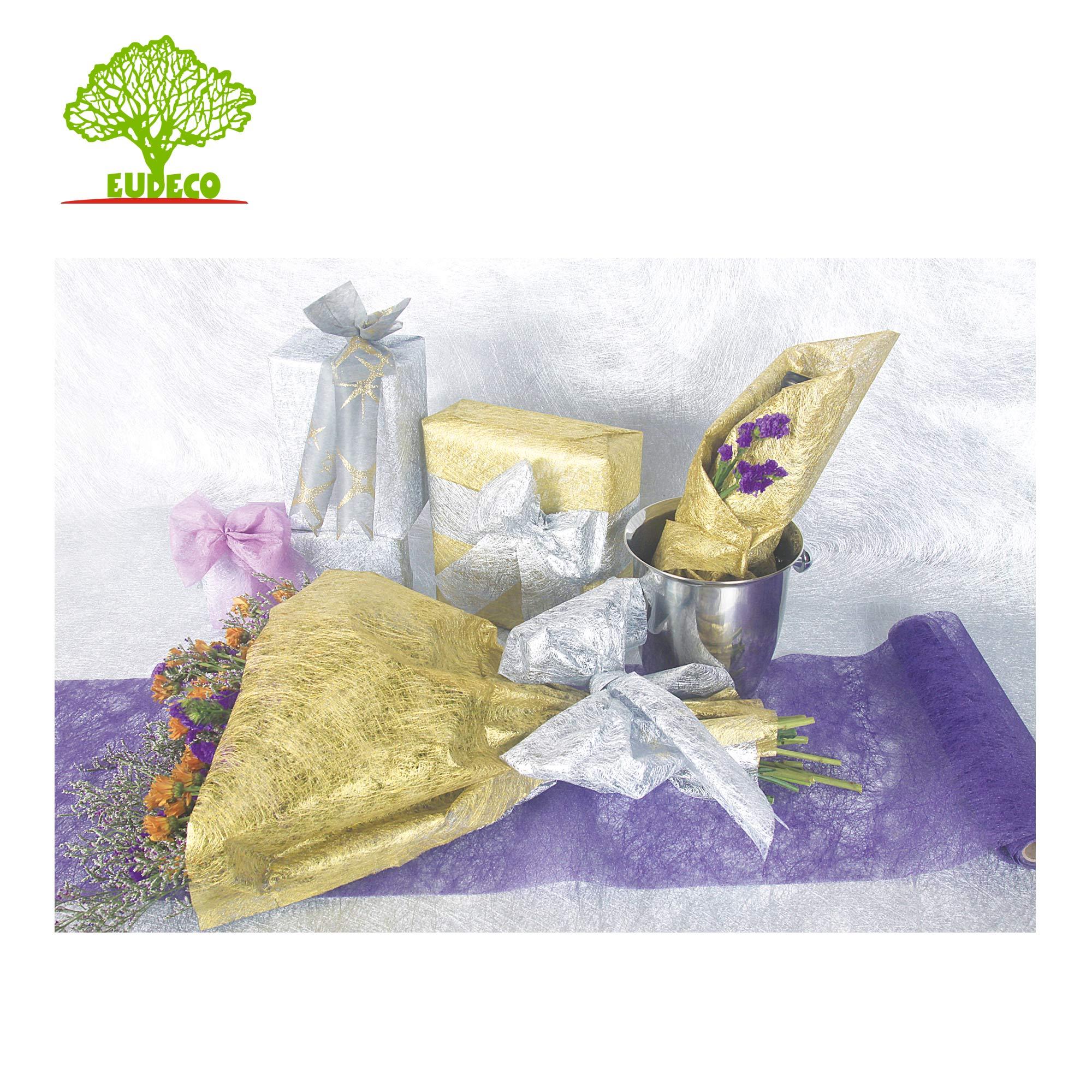 Organico Outdoor Tessuto Non Tessuto Fiore di Carta Da Imballaggio Per Il Fiore di Paglia Imballaggio All'ingrosso