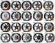 Nice designs of alloy wheels ,M3,M4,M5.17/18/19/20inch always in stock.5-120 or new 5-112 High quality wheels.
