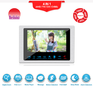 Smart Home security 7 inch LCD Monitor video Doorbell with HD camera