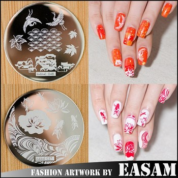 Easam Hot Konad Design Stamping Nail Art 2017 New Plates