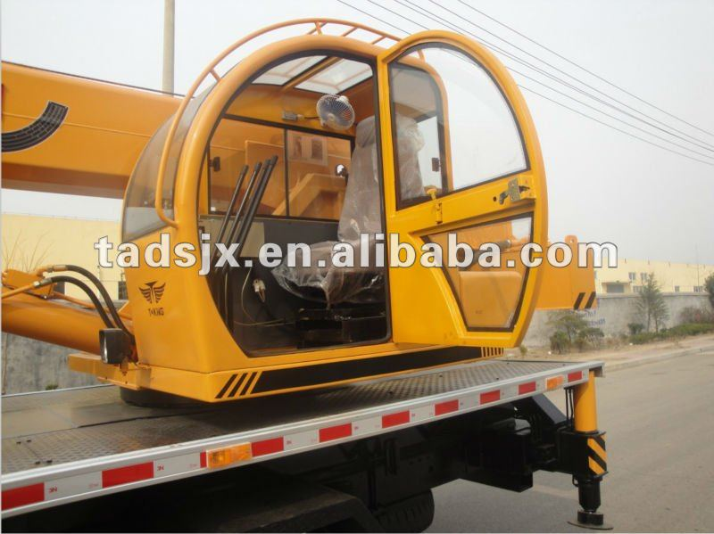 China famous brand-Lida, humanized operation interface, easly to operate, 8 tons small truck crane