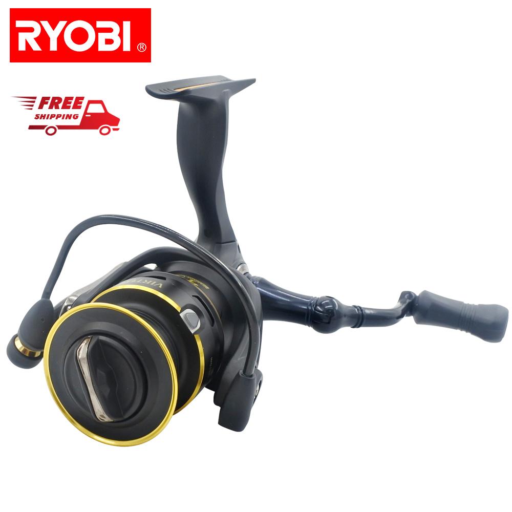 Free Shipping Japan Ryobi Virtus 4000 Aluminum Spool Spinning Fishing Reel