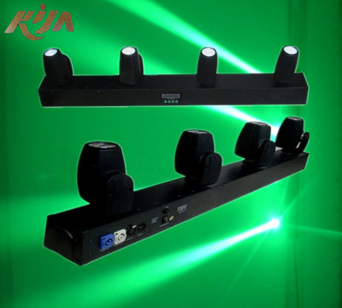 Hot!!! Dj Equipment Powerful Narrow Beam 4x10w Rgbw 4 In 1 Four Heads Cheap Led Lights