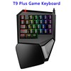 Delux T9 Plus Mini Wired Gaming Keyboard And Mouse with 11-Mode LED Backlit