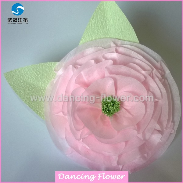 Wedding Party Flower Decoration Tissue Paper Flower <strong>Crafts</strong> (GFOH-02)