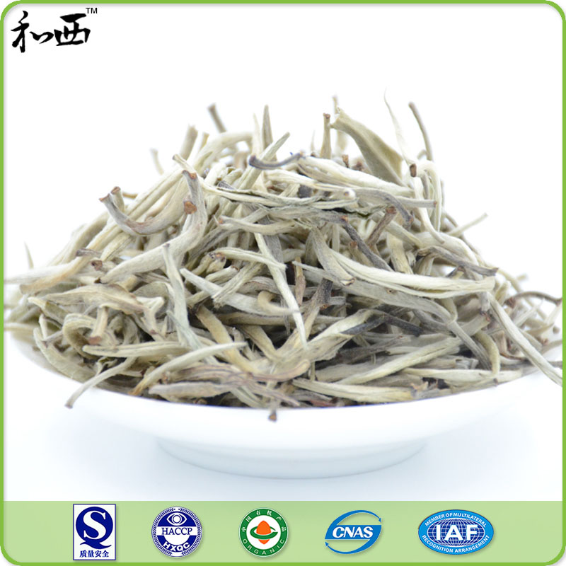 Healthy bai hao silver needle organic white tea