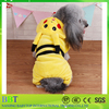 Lovely Soft Plush Pikachu Shape Plush Dog Cloth