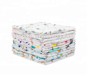 Miracle baby Customized Printing Pattern Cotton muslin Baby Blanket Swaddle  with verataile use, View baby blanket, Miracle baby Product Details from
