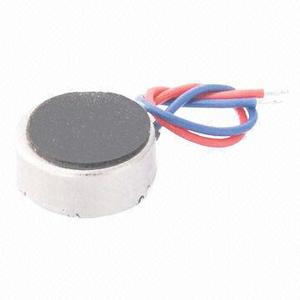 3V DC 8x3.4mm micro coin vibration motor Rated Current 75mA Max for wearable device