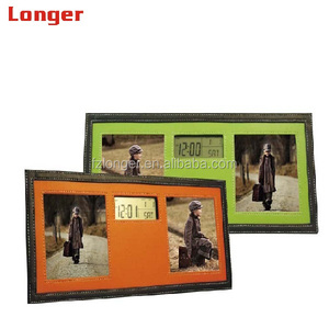 Best leather battery operated digital photo frame