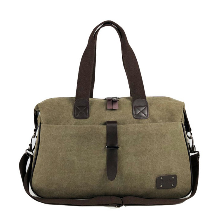 Hot Sale Luggage Garment Sport Gym Canvas Travel Duffle Bag