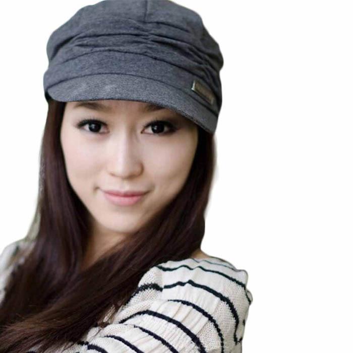 Лучшее предложение Bouffancy унисекс армейское военный кепка лежа - верхний шляпа студент шляпа винтажный морской синий 1 шт.