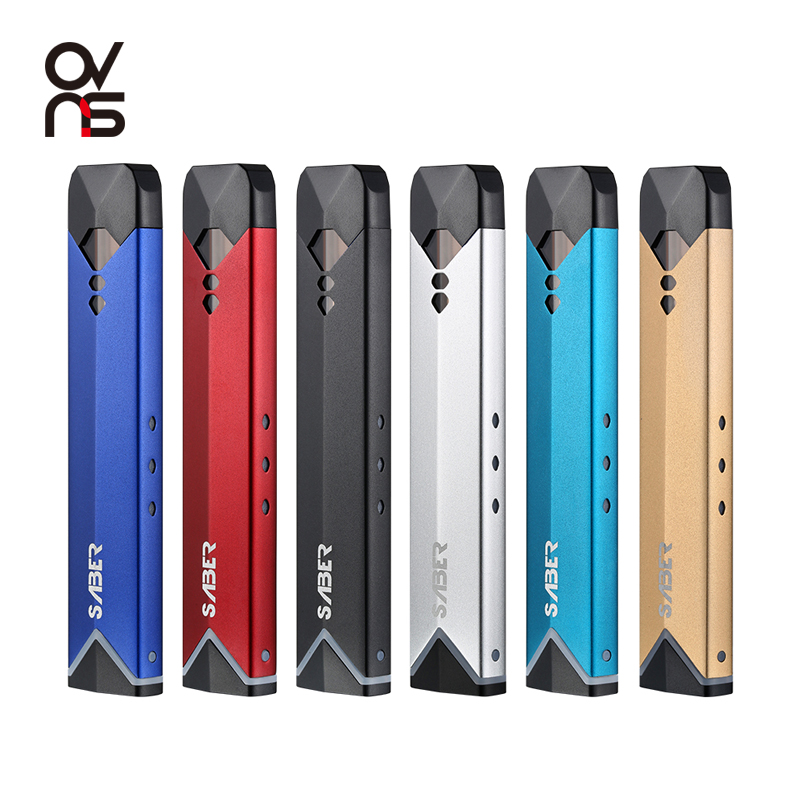 New Launched OVNS Saber VS Phix E Cigarette 1.8ml Capacity Pod Vape Pods Kit