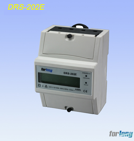 Drs-202e Two Phase Three Wire Electric Meter,(kwh Meter) - Buy Two ...