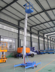 Electrical Telescopic Single Mast Climbing ladder