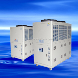 Large industrial air-cooled screw chiller